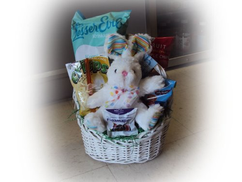 Healthy Easter Basket for Children - Bunny Love (Healthy Easter Baskets For Kids)