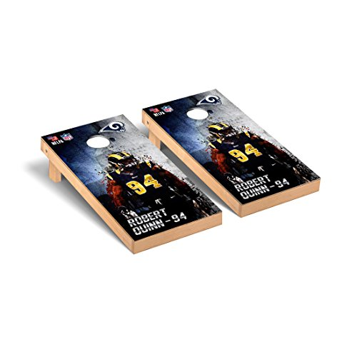NFL Los Angeles Rams Robert Quinn 94 PA Version Corn hole Game Set, One Size by Victory Tailgate