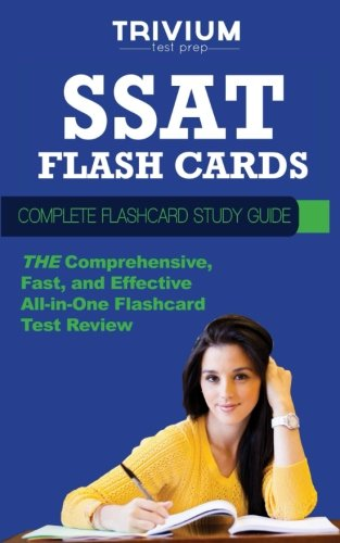 SSAT Flash Cards: Complete Flash Card Study Guide