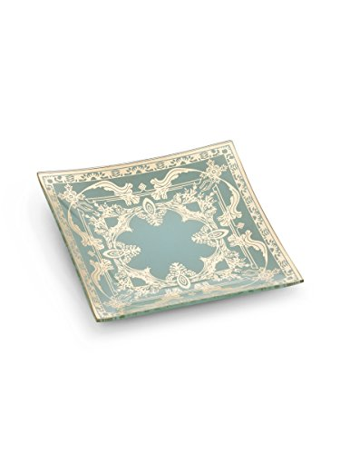 Abbott Collection 27-Palazzo/006 Small Square Plate with ()