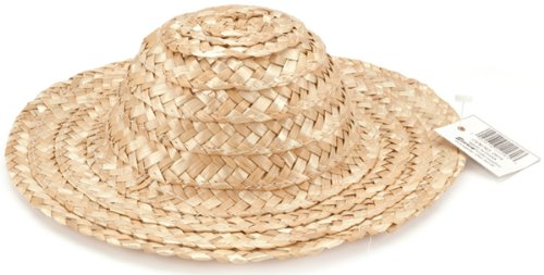Round Top Straw Hat 11.5