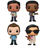 Funko TV: Pop! Community Collectors Set - Abed Nadir, Troy Barnes, Jeff Winger, Ben Chang