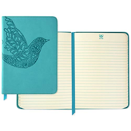 Hallmark Softcover Journal with Lined Pages (Scroll Bird)