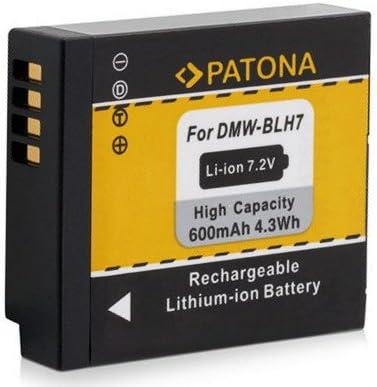 DMW-BLH7 PATONA AKKU 4in1 Ladegerät für Panasonic Lumix DC-GX880  DMW-BLH7E