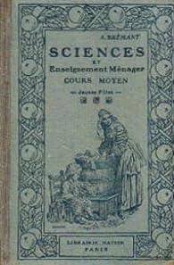 Book's Cover ofSciences et enseignement ménager cours moyen jeunes filles