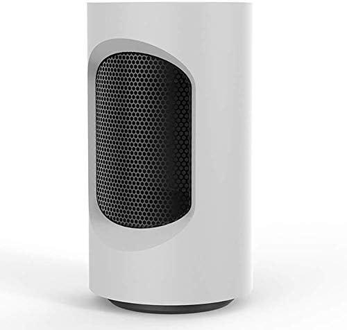 ZHWEI ファンヒーター、過熱とチップで保護された600Wセラミック発熱体 ポータブル (Color : White)