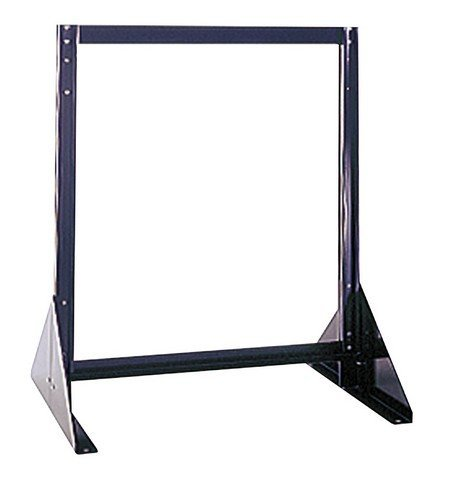 Quantum Storage QFS224 Double Sided Floor Stand44; 16 x 23.62 x 28 in.