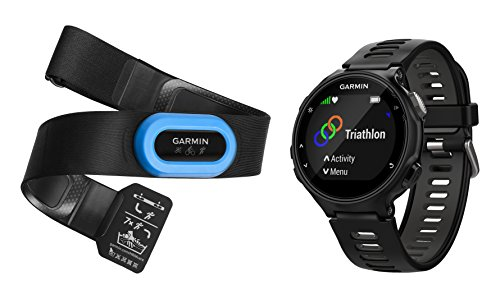 Garmin Forerunner 735XT - Black & Gray Tri-Bundle