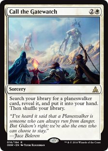 Magic: the Gathering - Call the Gatewatch (16/184) - Oath of the Gatewatch