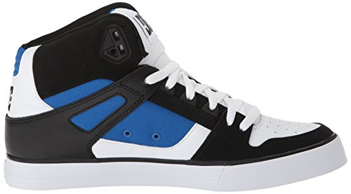 Dc Heren Pure High-top Wc Skate Schoen Wit / Blauw / Zwart