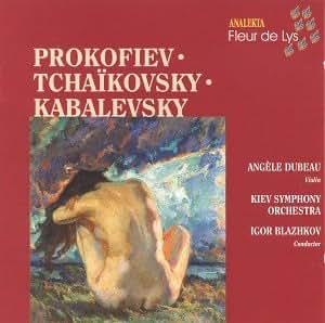 Prokoviev, Tchaikovsky, Kabalevsky: Violin Concertos/ Prokoviev, Tchaikovsky, Kabalevsky: Concertos pour violon