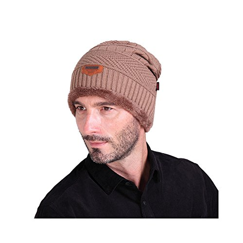 Caqui Invierno de Sombrero Gorros Mujeres Gorrita Hombre Hombres Punto Punto para y P1WOnOZ