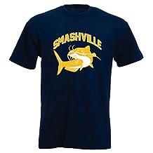 "The Silo NAVY Nashville Smashville ""Catfish"" T-Shirt"