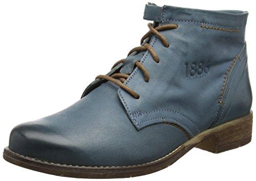 Josef Seibel Sienna 37, Stivali Chelsea Donna Blue (Jeans)