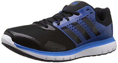 Adidas Prestaties Mens Duramo 7 M Loopschoen Zwart / Apparatuur Blauw / Zwart