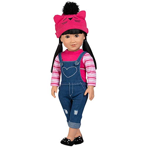 Adora Amazing Girls 18-inch Doll, Cool Cat Zoe (Amazon Exclusive)
