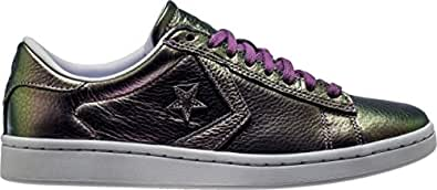 Converse Pro Leather LP Ox Mens Skateboarding-Shoes 558032C_6 - Viola Fantasy/White