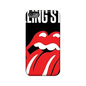 Great Hard Phone Covers For Iphone 6plus (ZTB20224HMfw) Support Personal Customs Attractive Rolling Stones Pictures