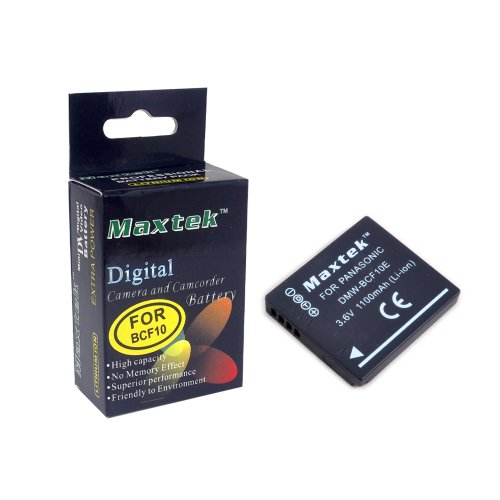 Maxtek Li-ion Rechargeable Battery for Panasonic DMW-BCG1...