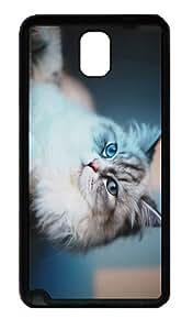 original case Fluffy Cat TPU Black case/cover for samsung galaxy note 3 N9000