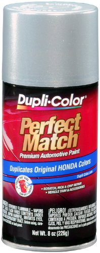 Dupli-Color BHA0971 Satin Silver Metallic Honda Perfect Match Automotive Paint - 8 oz. Aerosol