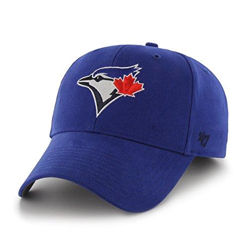 MLB Toronto Blue Jays Basic MVP Adjustable Hat, Toddler, Royal