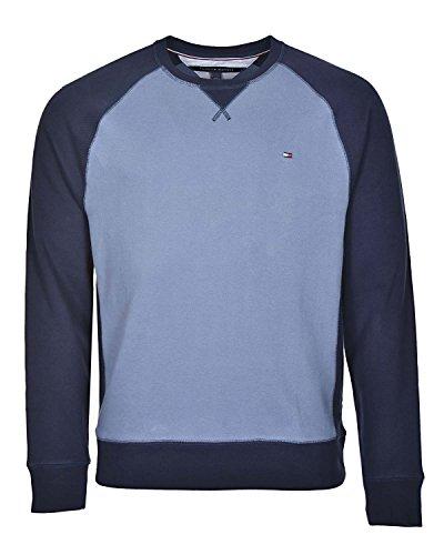 Tommy Hilfiger Mens Crewneck (Tommy Hilfiger Men's Crew Neck Sweatshirt (Medium, Fleet Blue))