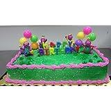 A1BS Cake Decoration Toys Favors Figurine Toys Barney Kit