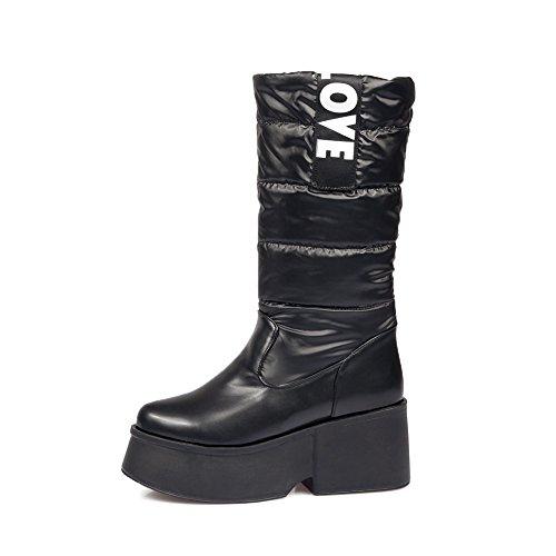 37 Compensées MNS02228 Noir 1To9 5 EU Inconnu Femme Sandales XTnwZ