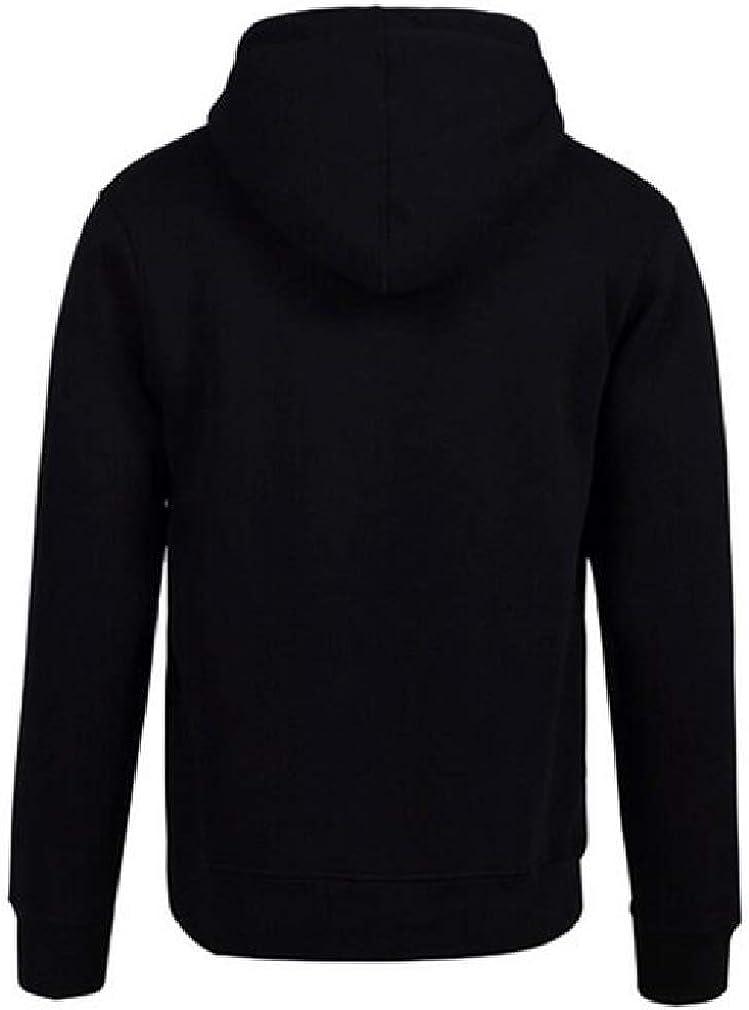 Wofupowga Mens Drawstring Casual Top Hoodie Long-Sleeve Pullover Sweatshirts