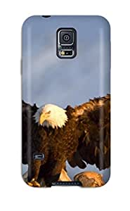 First-class Case Cover For Galaxy S5 Dual Protection Cover Eagle by lolosakes