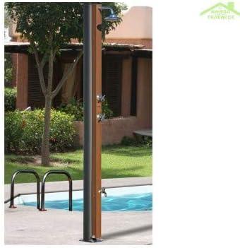 Crm-Ducha solar, acero inoxidable, con grifo y accesorios, 30 L: Amazon.es: Bricolaje y herramientas