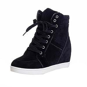 Amazon.com: SUKEQ Women's Autumn Winter Wedge Sneaker