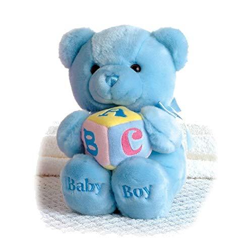 Aurora World Plush ABC Musical Comfy Baby Boy Bear 9