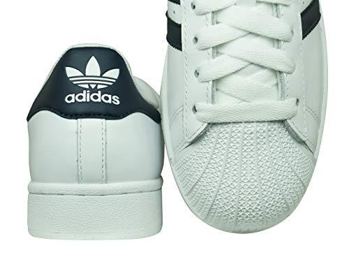 Bianco top nero Low 2 Hombre Adidas Superstar waYqxBTIX6