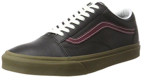 bleacher Noir De Old Vans Skool Running Homme Chaussures wgcAqF0