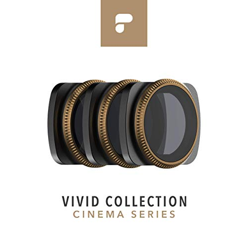 PolarPro Cinema Series Filter 3-Pack - Vivid Collection for DJI Osmo Pocket