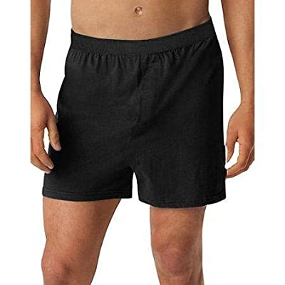 Hanes Big Men's Fresh IQ ComfortFlex Waistband Knit Boxer 3 Pack at Amazon Men's Clothing store