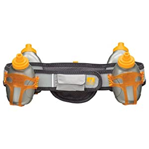Nathan Speed 4R Hydration Belt, Grey, Large