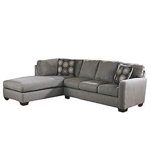 Amazon Com Ashley Furniture Zella Microfiber Sofa