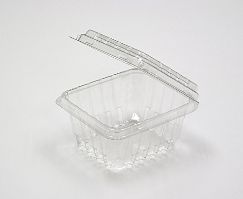 Clear Plastic Berry/Produce Vented 1 Pint Basket/Container by MT Products - (15 Pieces)