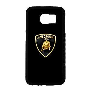 Cover Shell Racing Car Automobili Lamborghini S.P.A.Phone Case for Samsung Galaxy S6 New Fashion Lamborghini Logo Design