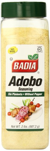 (Badia Adobo without Pepper, 2 Pound (Pack of 6))