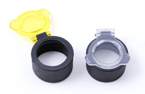 Trophy 1x28 Red Dot Sight - Quick Flip Open See Thru Lens Cover Caps for 30mm Tube 1X30 1X28 Red Dot Sight