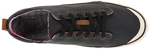 Reef Girls Walled Low Shoes Denim Black
