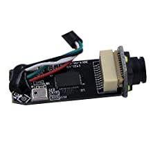 KAYETON Diameter 13mm 1280 x 960P MJPEG UVC Linux Android Windows MAC usb camera module with LED with Digital Microphone