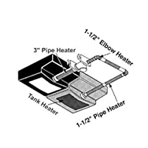 UltraHeat Pipe Heater 1/2 12 Lgth - AM-PH-513