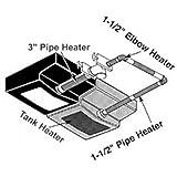 Pipe Heater 1/2 12 Lgth - AM-PH-513