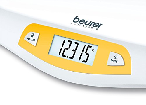 Beurer Digital Baby Scale with Comfortable Curving Platform