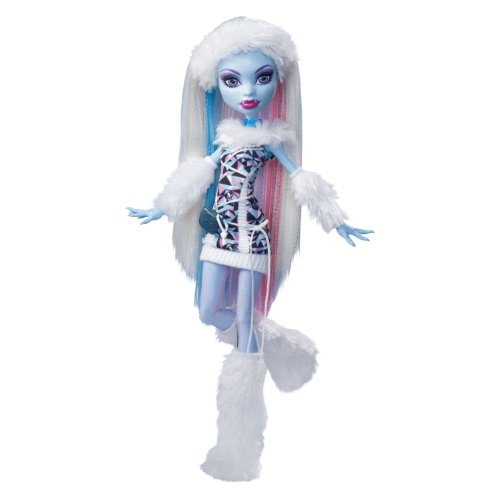 amazon com monster high abbey bominable doll daughter of the yeti